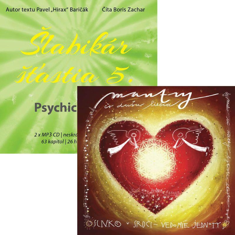 Audiokniha Šlabikár šťastia 5 + CD Mantry, čo dušu liečia