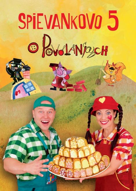 Spievankovo 5 - DVD - O povolaniach