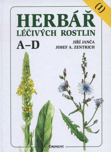 Herbář léčivých rostlin 1 - Jiří Janča, Josef A. Zentrich