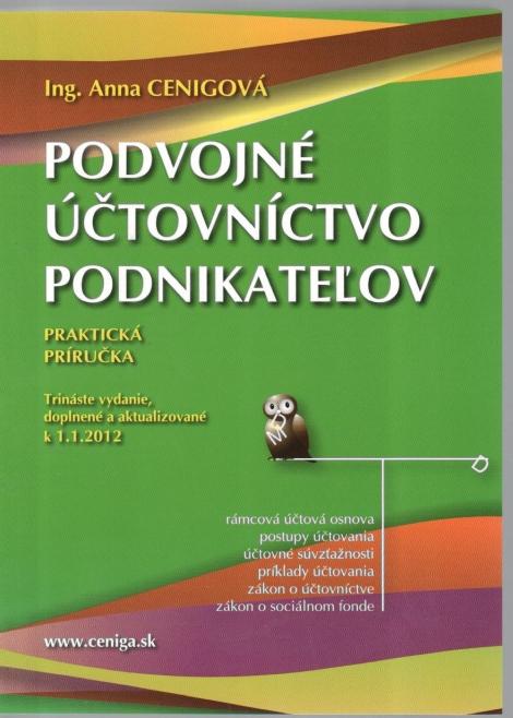 Podvojné účtovníctvo podnikateľov 2012 - Praktická príručka