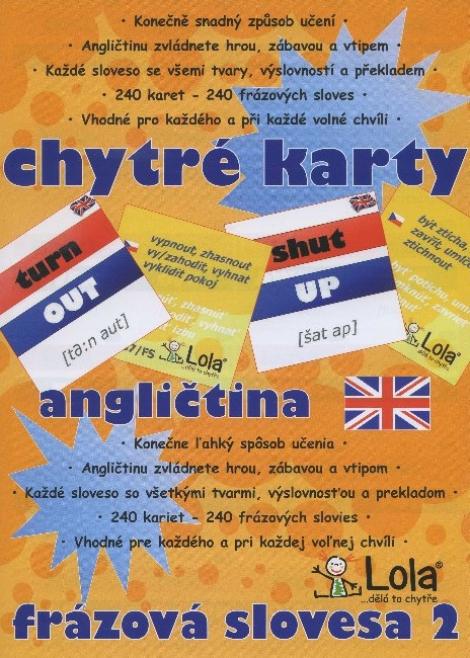 Chytré karty: Angličtina frázová slovesa 2