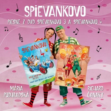 Piesne z DVD Spievankovo 3 a Spievankovo 4 - Spievankovo II.