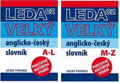 Velký anglicko-český slovník A-L, M-Z (2 knihy) -