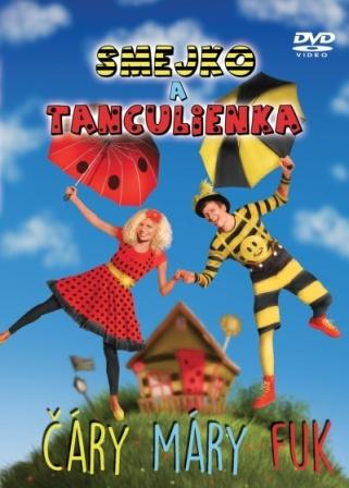 Smejko a Tanculienka: Čáry Máry Fuk - DVD -