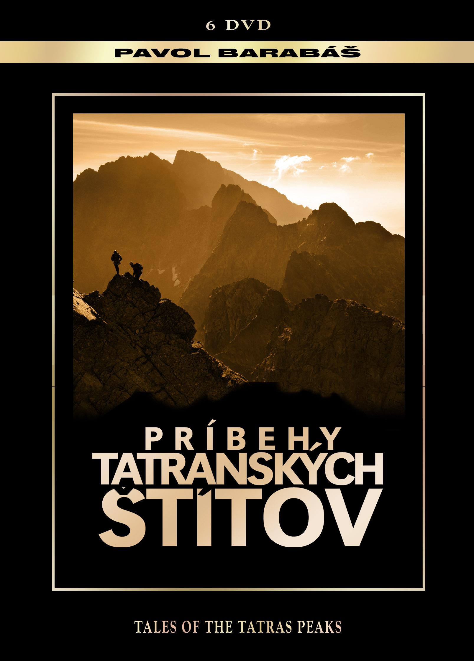 Príbehy tatranských štítov (kolecia 6 DVD)