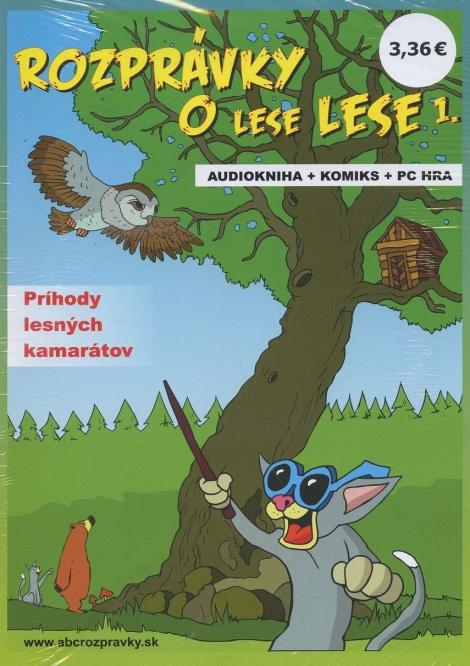 Rozprávky o lese Lese 1 - audiokniha + komiks + PC hra