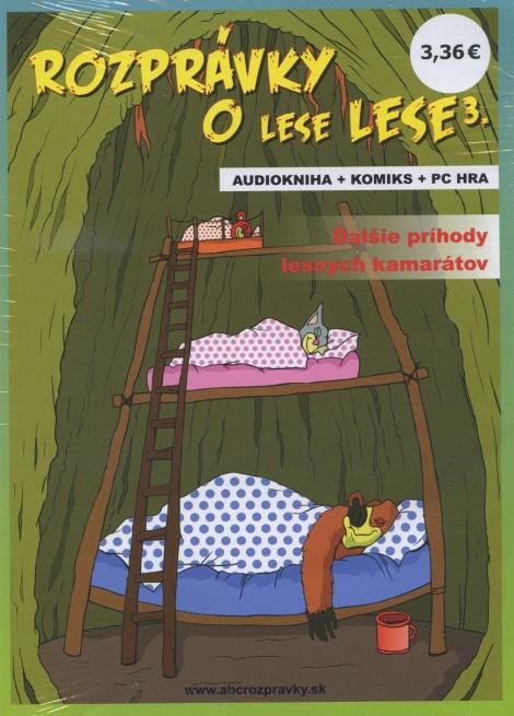 Rozprávky o lese Lese 3 - audiokniha + komiks + PC hra