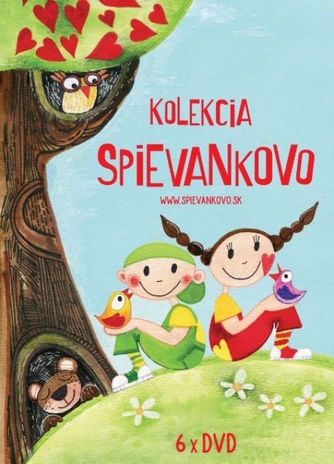 Kolekcia Spievankovo 1-6 DVD -