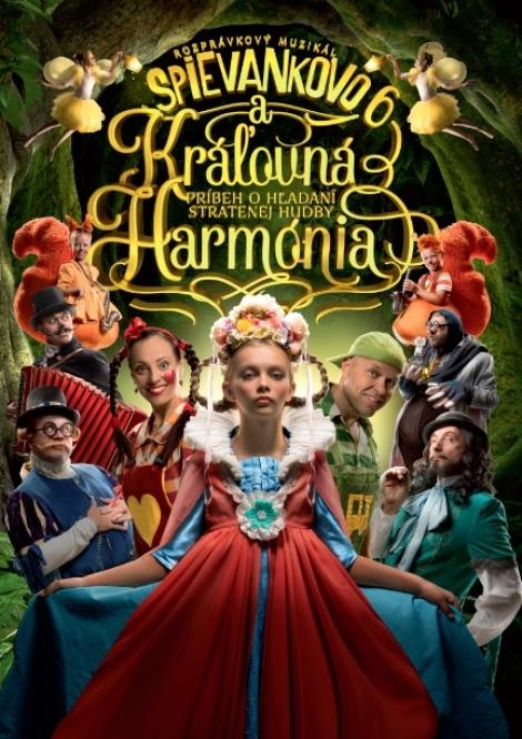 Spievankovo 6 a kráľovná Harmónia - DVD - Príbeh o hľadaní stratenej hudby