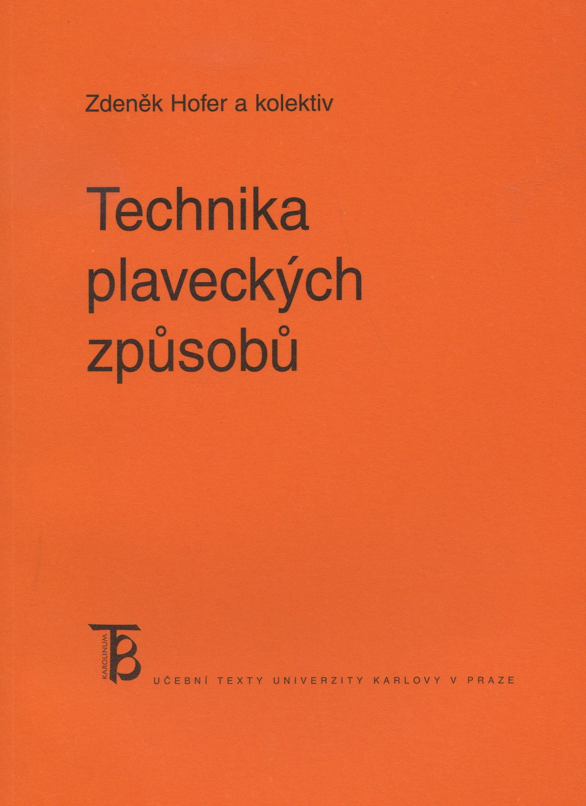 Technika plaveckých způsobů (4.vydání)