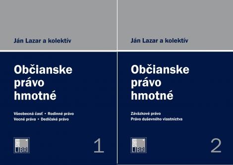 Občianske právo hmotné 1. a 2. zväzok - Druhé, doplnené a prepracované vydanie