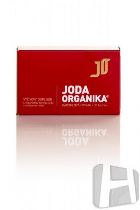 Jód v organickej forme - kapsule - (30 kapsúl)