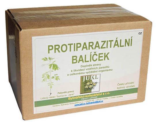 Protiparazitálny balíček