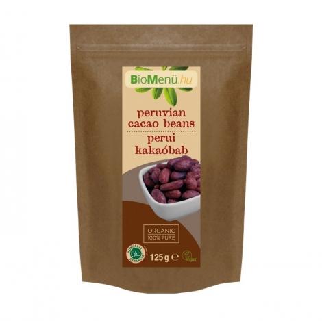 Bio kakaové bôby - Celé (125 g)