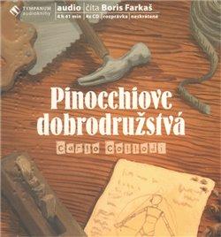 Pinocchiove dobrodružstvá (4x Audio na CD)