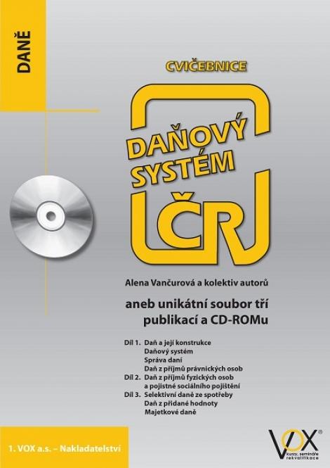 Daňový systém ČR - cvičebnice 2019 - Komplet tří publikací + CD