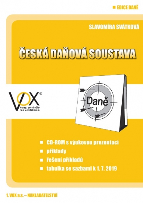 Česká daňová soustava 2019 + CD -