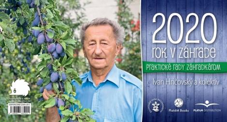 Kalendár 2020  - Rok v záhrade - stolový kalendár