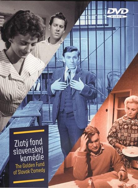 Zlatý fond slovenskej komédie / The Golden Fund of Slovak Comedy (3DVD)