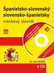 Španielsko-slovenský slovensko-španielský vreckový slovník + CD
