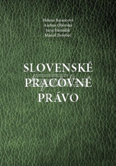 Slovenské pracovné právo -