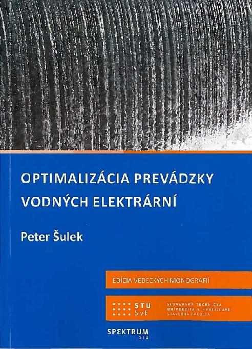 Optimalizácia prevádzky vodných elektrární