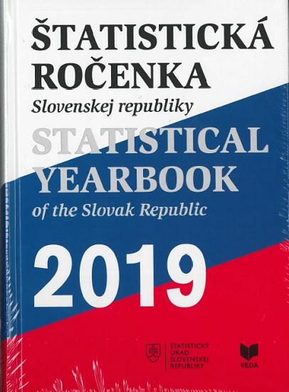 Štatistická ročenka Slovenskej republiky 2019 + CD