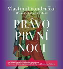 Právo první noci (1x Audio na CD - MP3) - Hříšní lidé Království českého