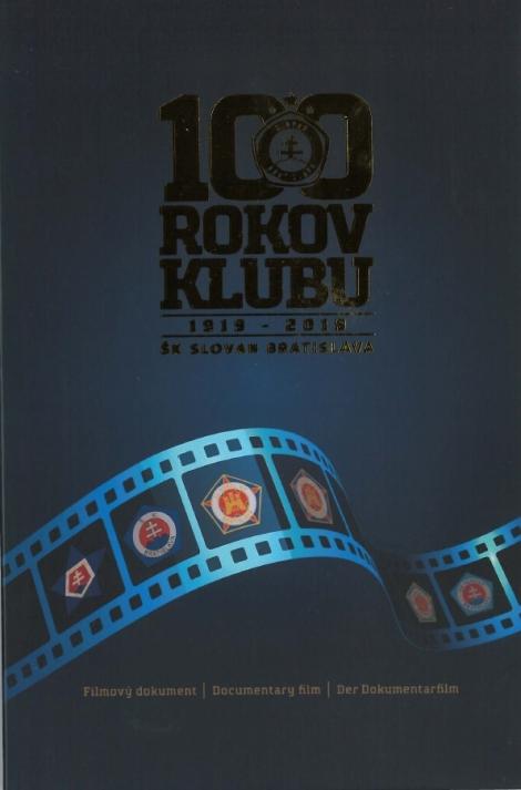 100 rokov klubu 1919-2019 /DVD filmový dokument/ - ŠK Slovan Bratislava