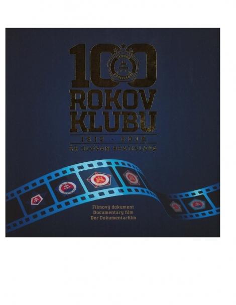 100 rokov klubu 1919-2019 /USB filmový dokument/ - ŠK Slovan Bratislava