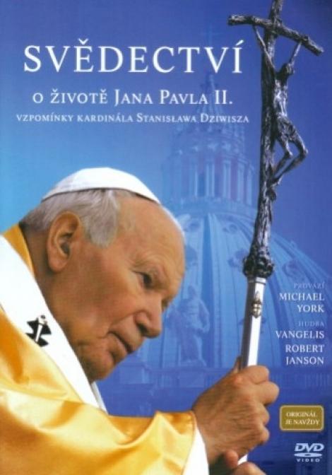 Svědectví o životě Jana Pavla II. - DVD - Vzpomínky kardinála Stanislawa Dziwisza