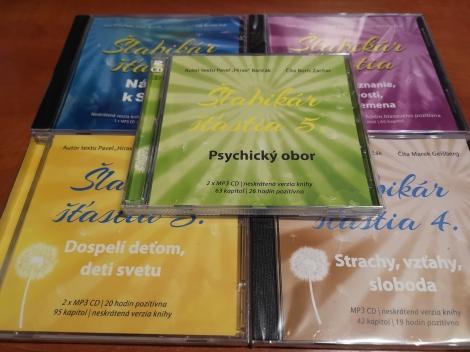 Šlabikár šťastia 1 + 2 + 3 + 4 + 5 - Kolekcia audiokníh