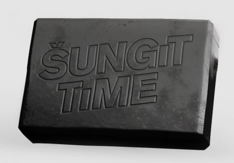 Prírodné mydlo ŠUNGIT TIME - Kvalitný šungit priamo z ruskej Karélie