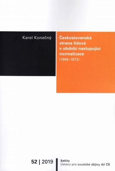 Československá strana lidová v období nastupující normalizace (19691972)