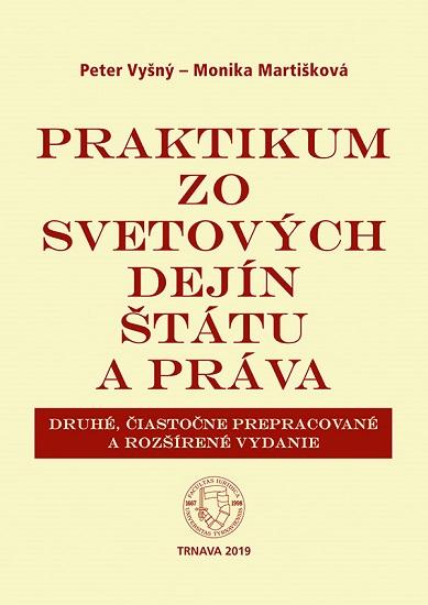Praktikum zo svetových dejín štátu a práva (2. čiastočne prepracované a rozšírené vydanie)