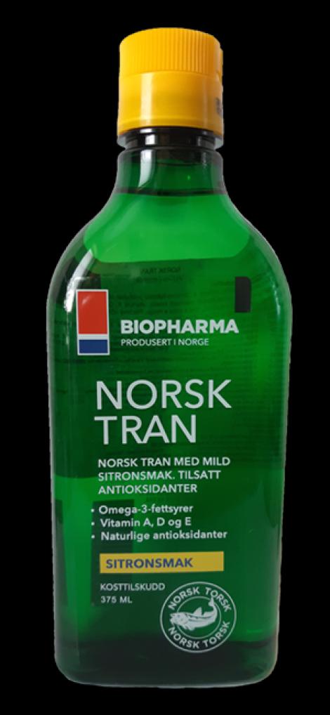 Olej Norsk Tran - Vitamín D... (375 ml)