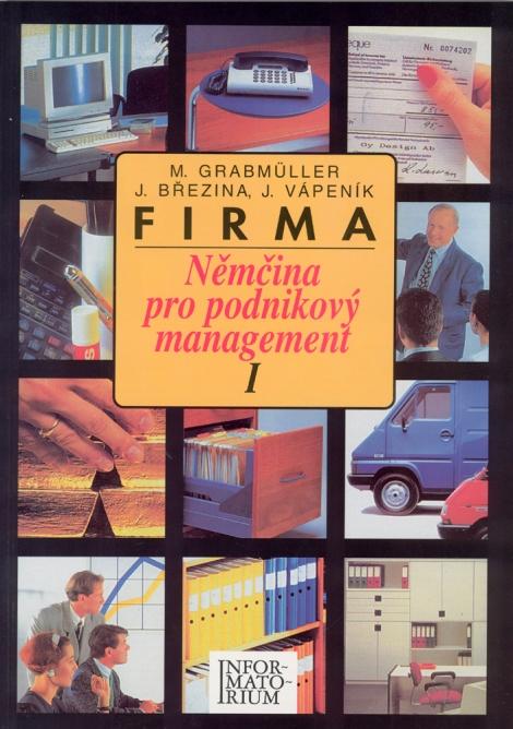 Firma Nemčina pro podnikový management I -