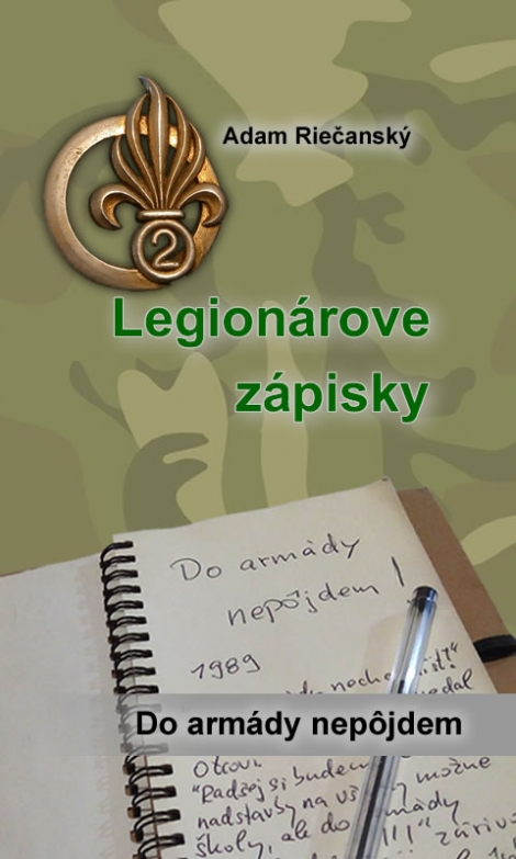 Legionárove zápisky (Príprava + - E-kniha pre android
