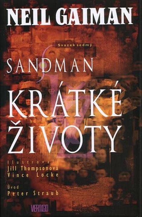 Sandman 8: Krátké životy (2.vyd.) -
