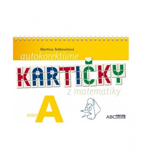 Autokorektívne kartičky z matematiky zošit A - 1. ročník ZŠ
