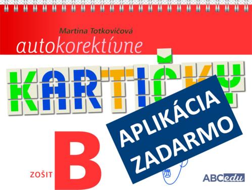 Autokorektívne kartičky z matematiky - zošit B - 2. ročník ZŠ