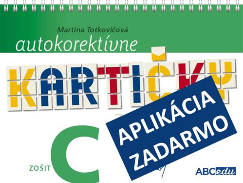 Autokorektívne kartičky z matematiky - zošit C - 3. ročník ZŠ