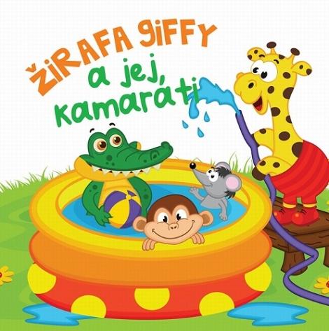 Žirafa Giffy ajej kamaráti - Kniha do vody