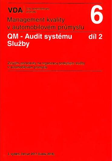 Management kvality v automobilovém průmyslu VDA 6 díl 2