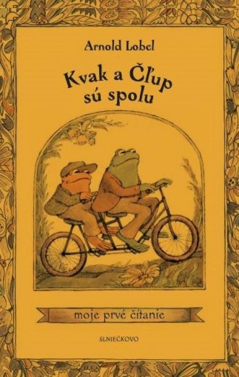 Kvak aČľup sú spolu - moje prvé čítanie