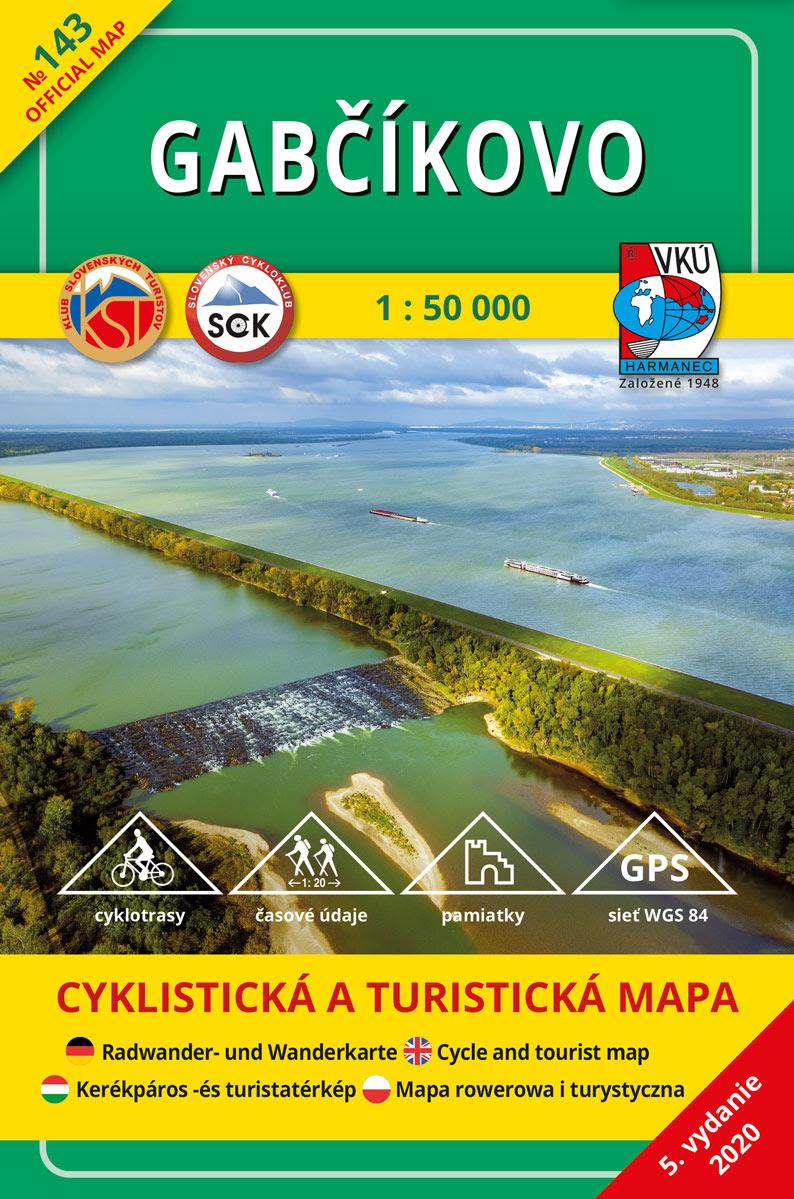 Gabčíkovo 1:50 000 (5.vydanie)