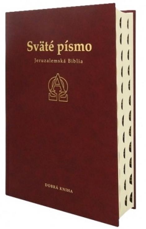 Sväté písmo - Jeruzalemská Biblia (bordová) 9.vydanie - Deviate revidované a opravené vydanie