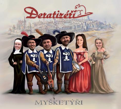 Deratizéři - Myšketýři (CD)