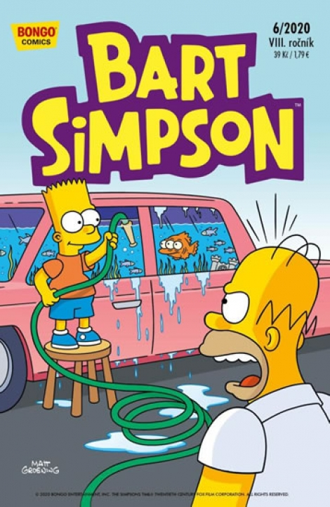 Bart Simpson 6/2020 -
