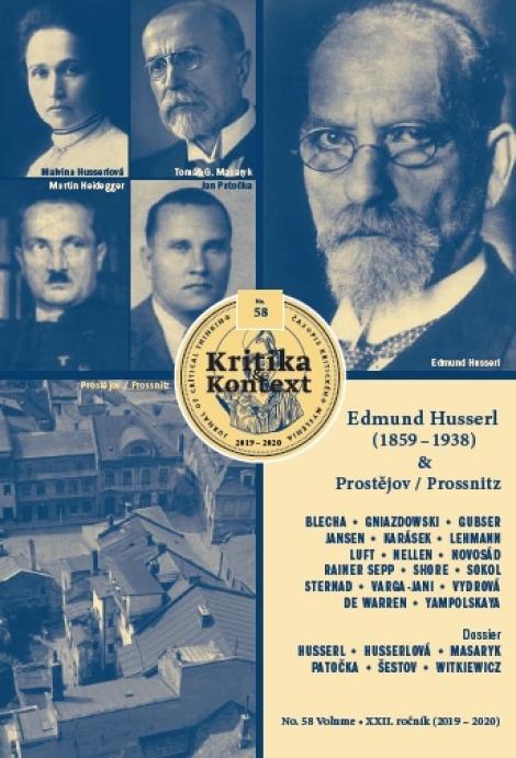 Kritika & Kontext (č. 58) - Edmund Husserl (1859-1938) & Prostějov/ Prossnitz